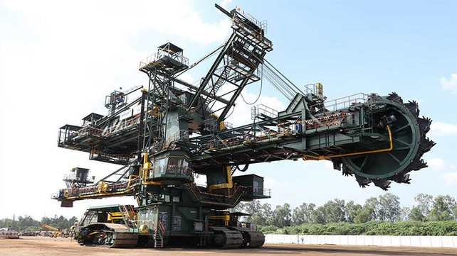 Bucket-Wheel Excavator in India - Neyveli 700 L BWE