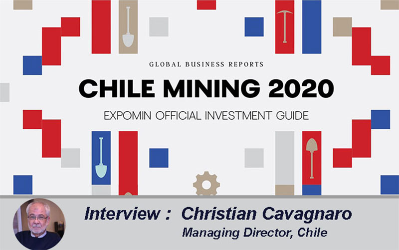 Picture of the Chile Mining 2020 EXPOMIN Official Investment Guide