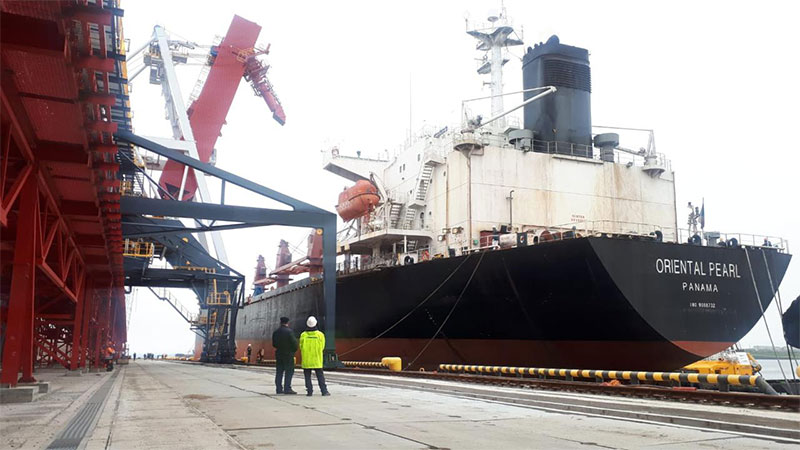 Successful Loading of First Vessel